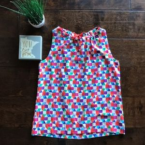 Kate Spade Kaleidoscope Bright Top L